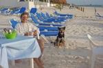 Mary and Charlie enjoying Ixchel BeachBar