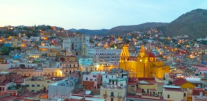 """As the lights come on in Guanajuato they are reflected into the night, and we call them stars…."" Dennis Pekus"